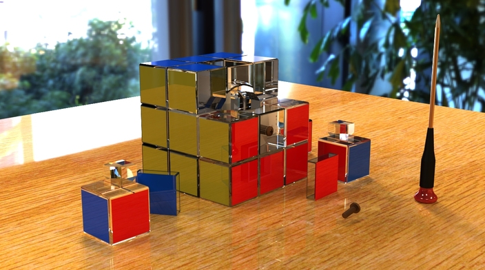 Found 5078 cube 3d models, shown 9 of 43 pages