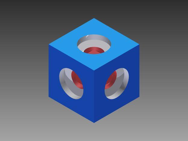 Rubic cube, raven221221221, бесплатно, скачать бесплатно, бесплатно 3d модель, cg текстуры, 3d принт модели