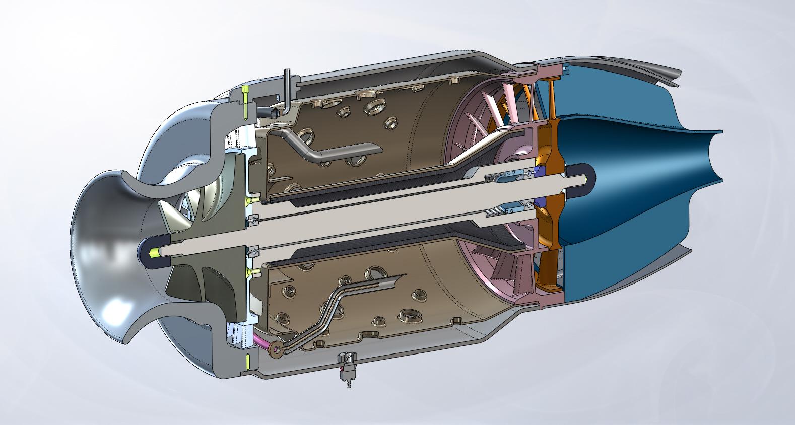 Газотурбинный двигатель своими руками чертежи