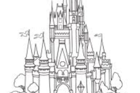 free magic kingdom coloring pages - photo#15