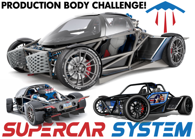 Supercar System: Design the Future Body Challenge | Engineering