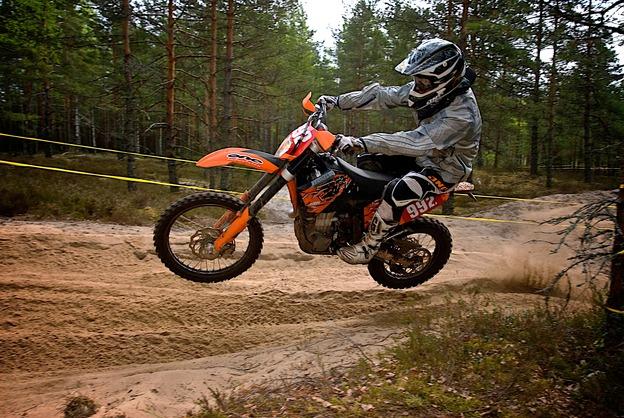 Changing Dirt Bike Tire Ktm