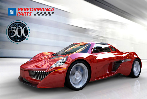 Group Supercar Dash Challenge Grabcad