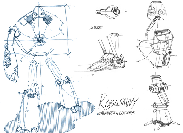 Robosavvy Humanoid Design Challenge Engineering Amp Design