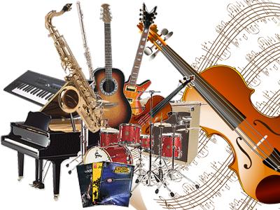 varied instruments