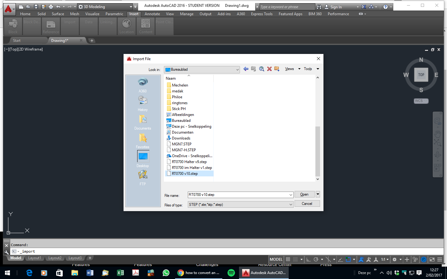 how to convert an stl file to a dwg file ?   GrabCAD Questions