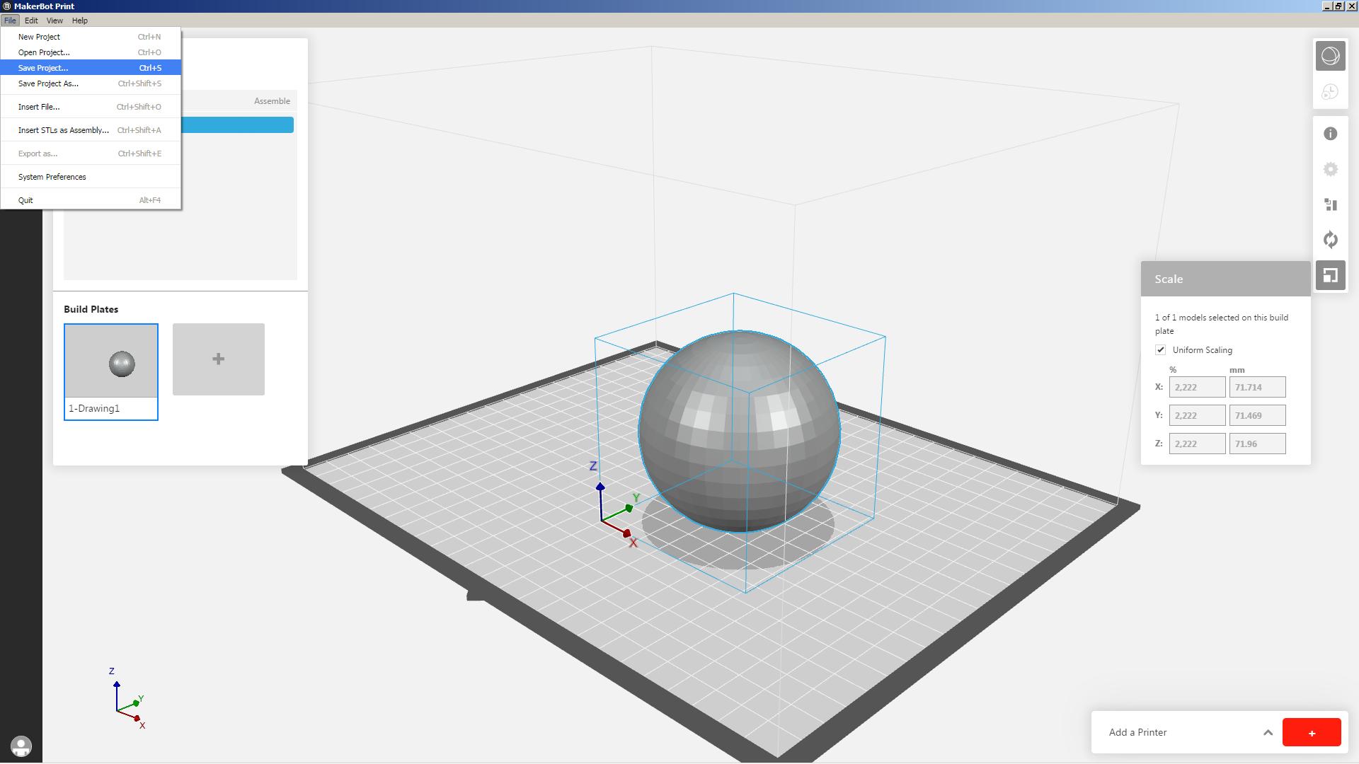 3d printing design file