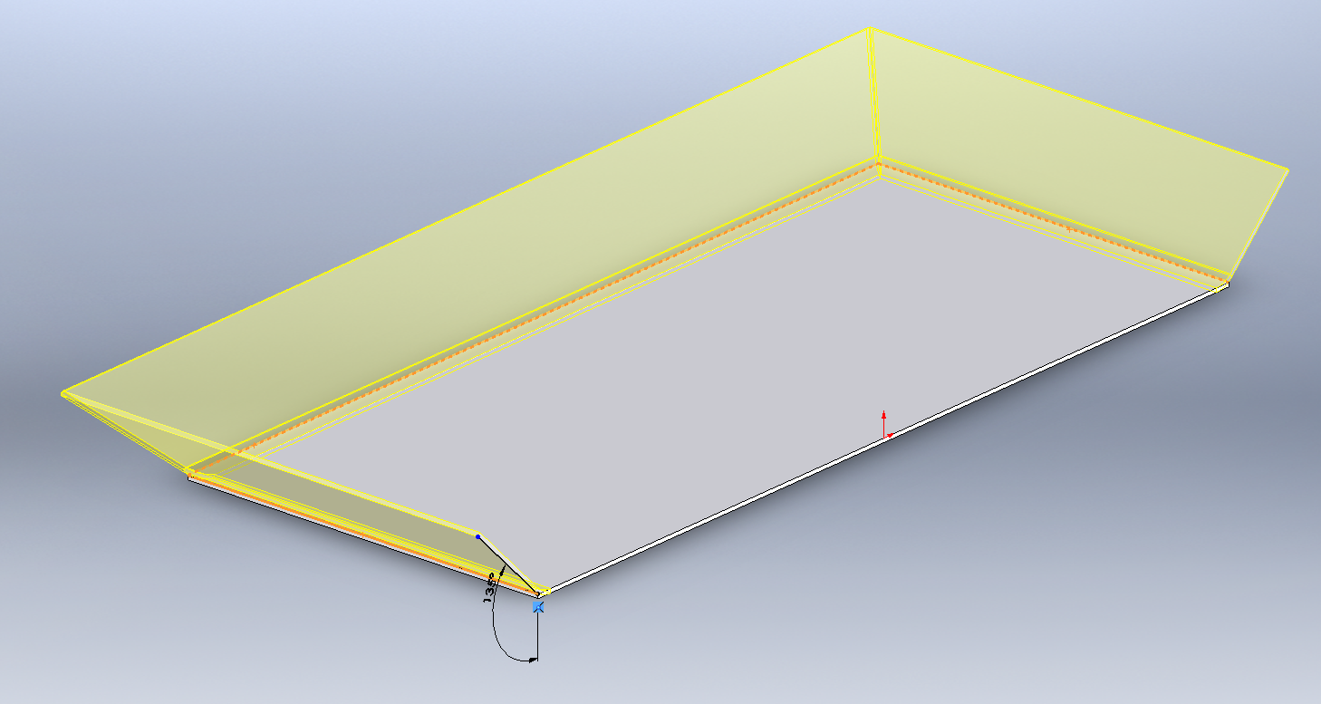 Flat Pattern Problem In Solidworks 2016 Grabcad Questions