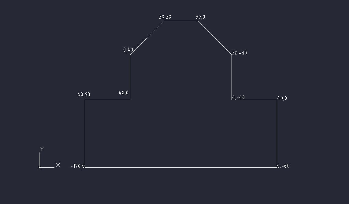 Drawing Lines In Autocad Using Coordinates : Drawing with coordinates in autocad grabcad tutorials