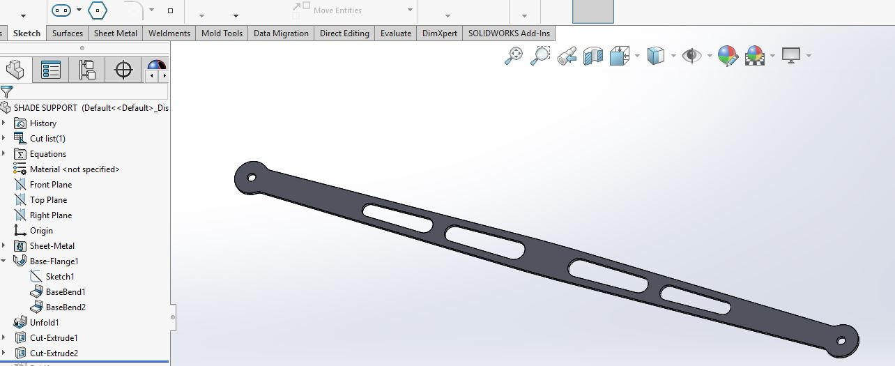 How To Model Complex Sheet Metal Parts In Solidworks