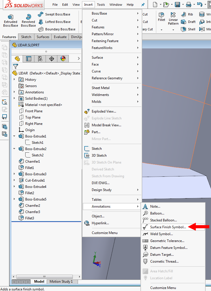 How To Provide Surface Finish In A Material Grabcad Questions
