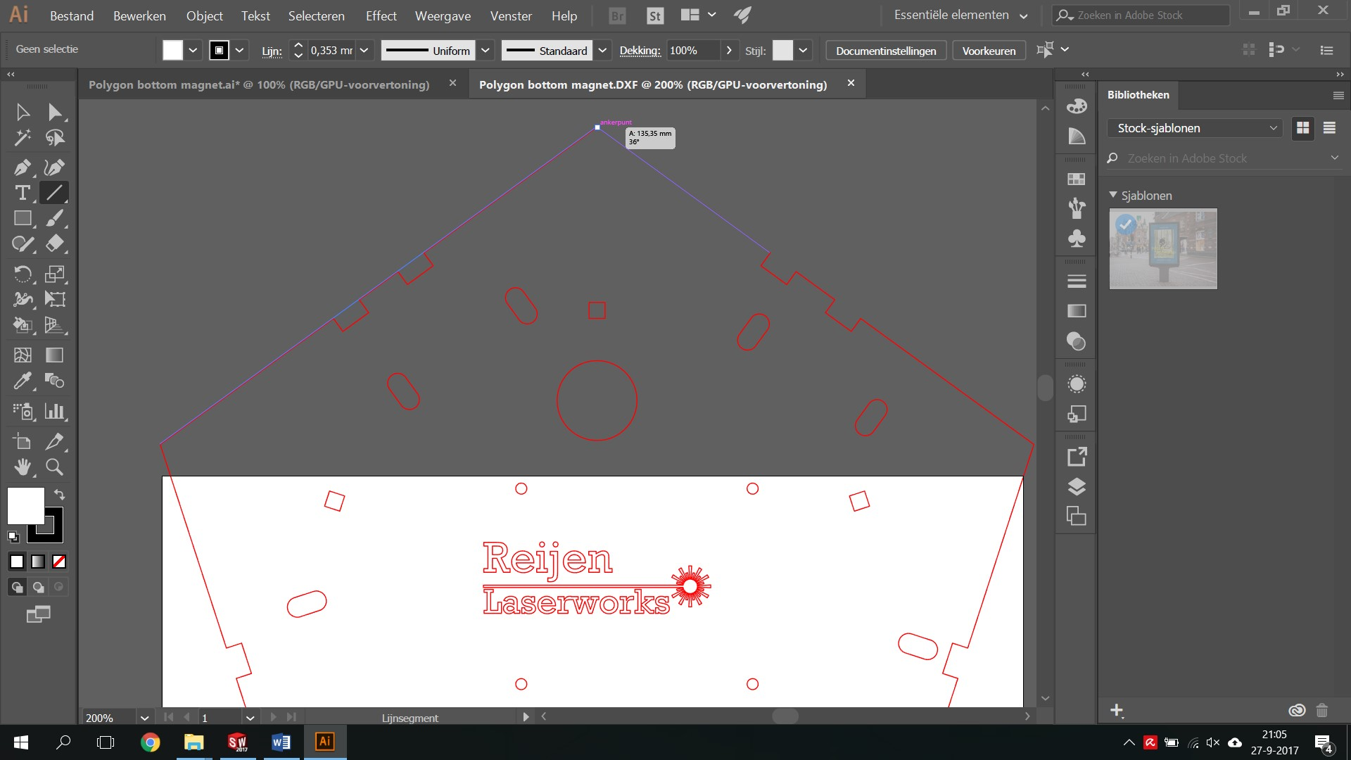 Getting your Solidworks drawing lasercut ready | GrabCAD