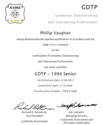 GD&T certification | GrabCAD Questions
