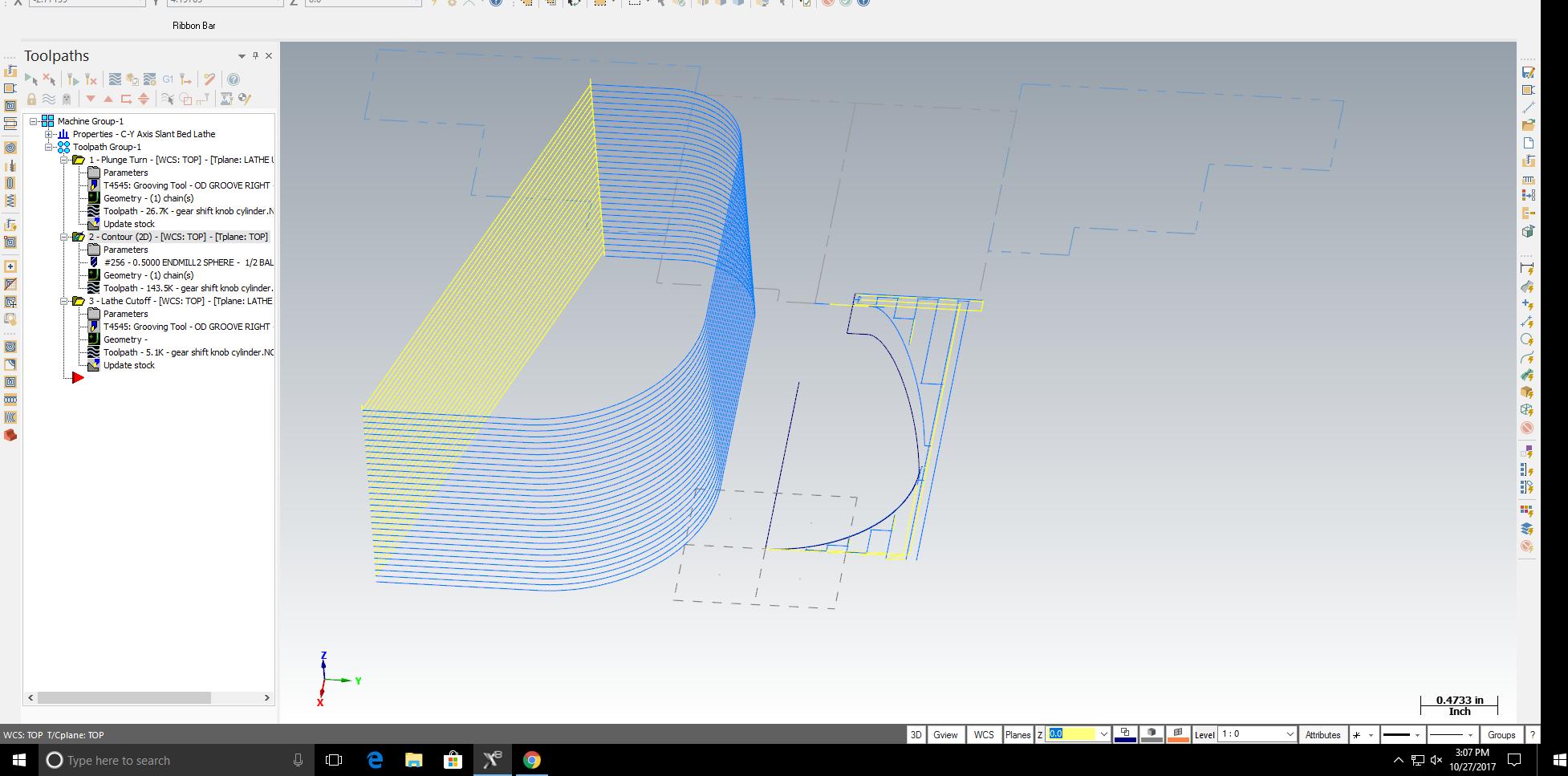 how make toolpath follow center of line? mastercam | GrabCAD
