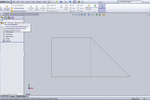 how to add weldments in solidworks
