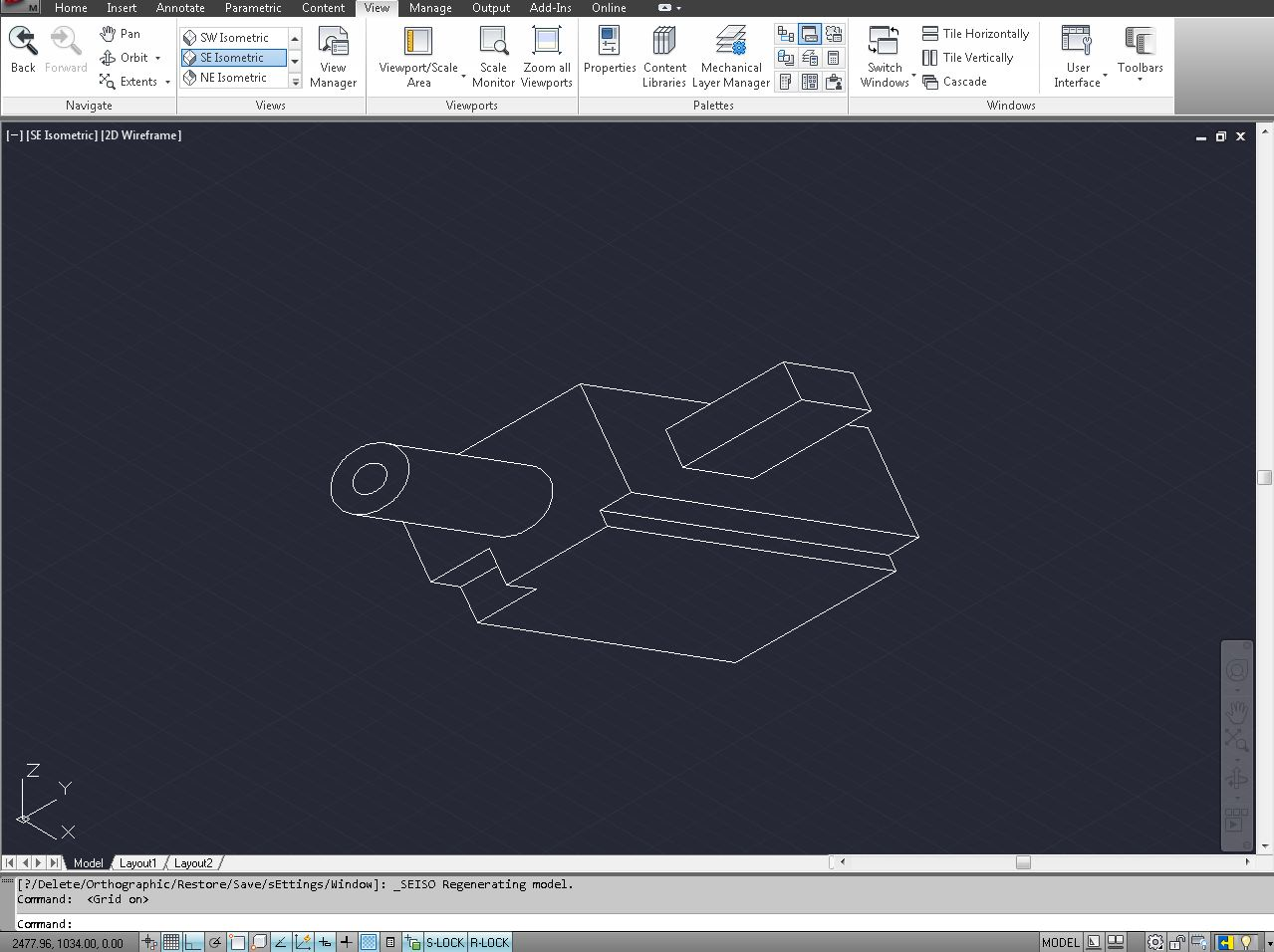 What is Isometric Drafting? (AutoCAD) | GrabCAD Tutorials