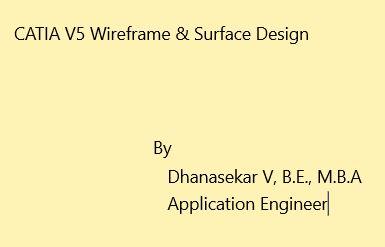 CATIA V5 Wireframe & Surface Design | GrabCAD Tutorials