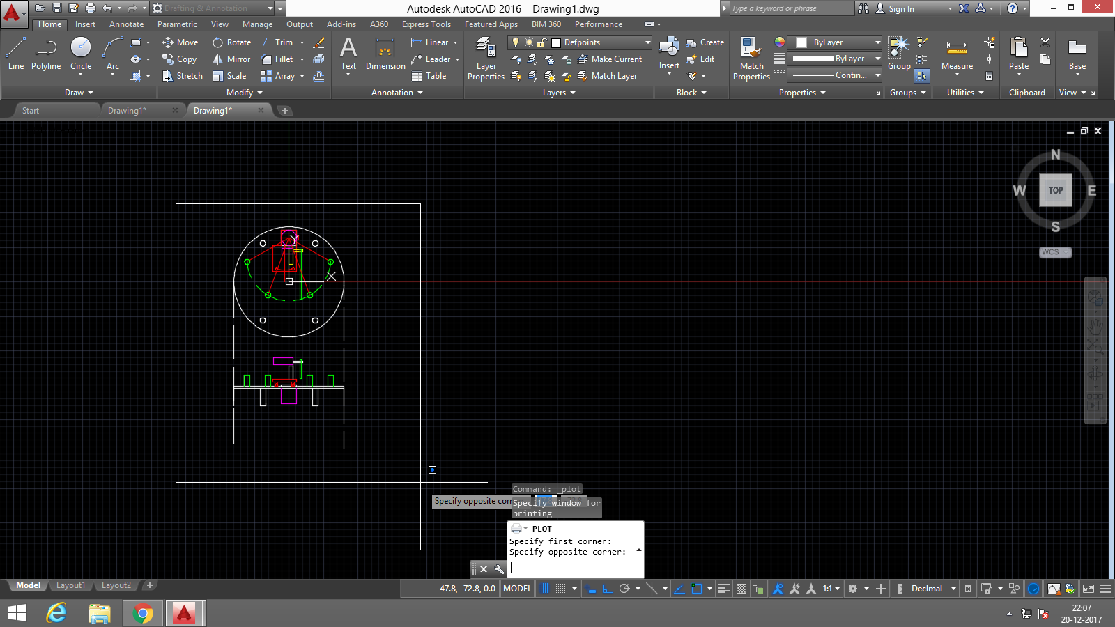How to export autocad drawing in pdf i real scale? | GrabCAD