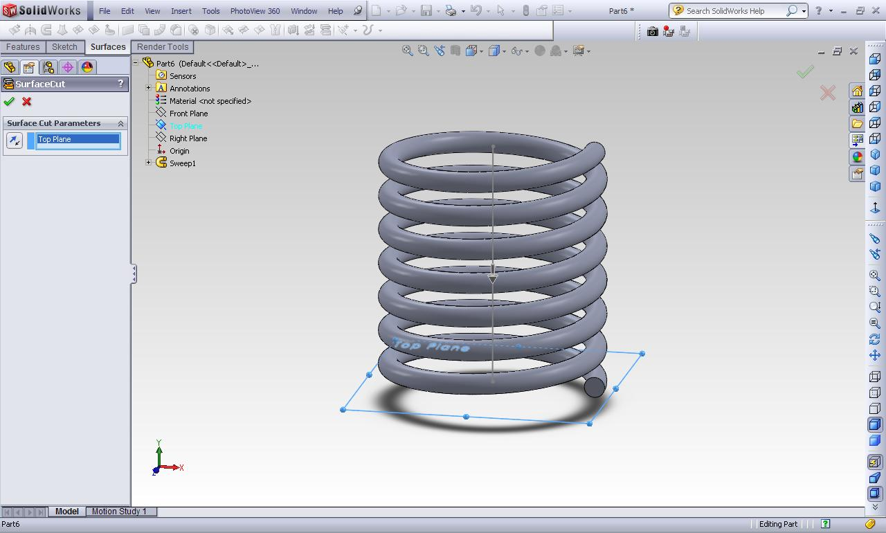How to make an animation for a compression spring in solidworks 2011 step 2 baditri Image collections