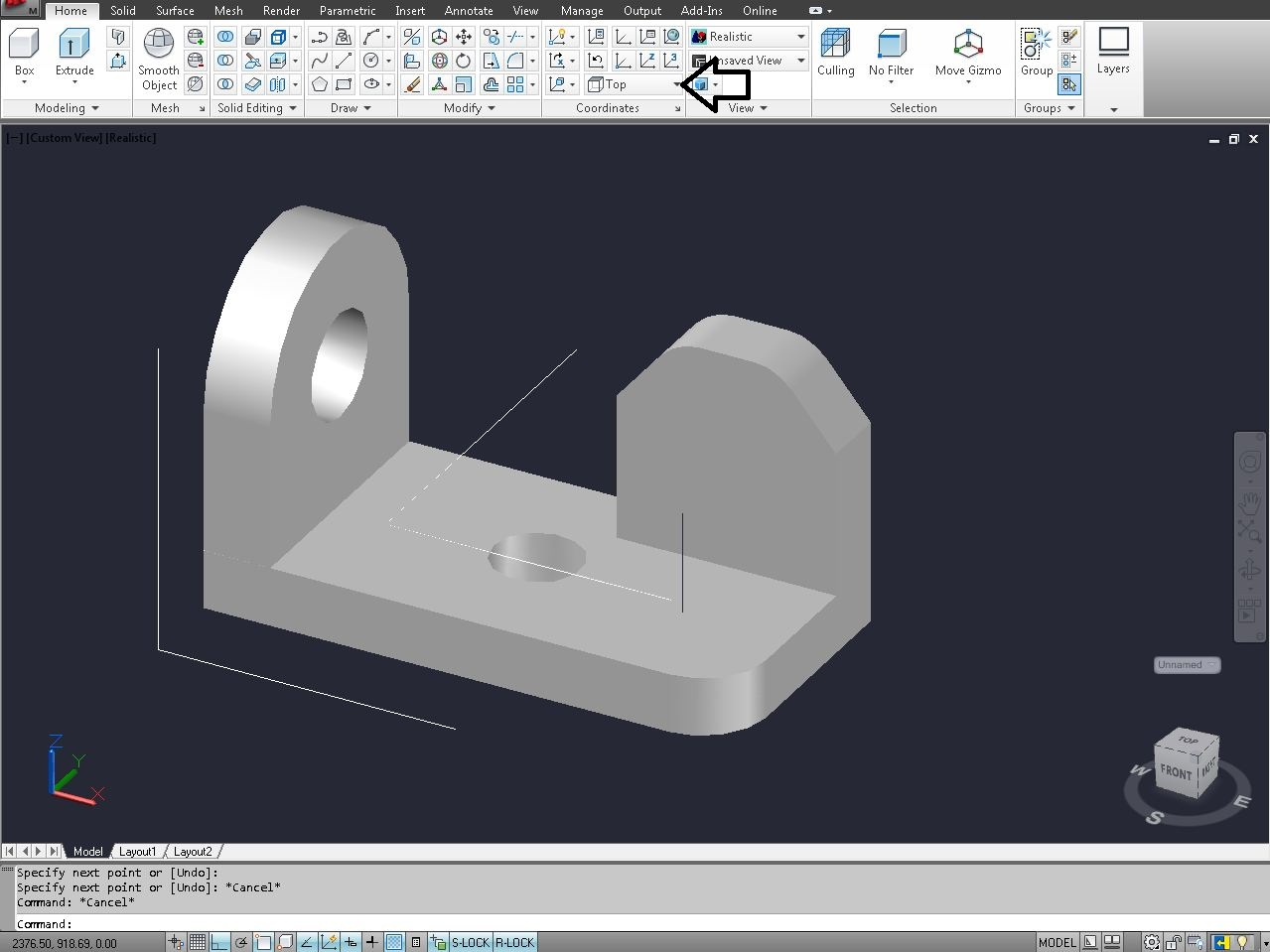 How to change view in AutoCAD 3D Modeling? | GrabCAD Tutorials