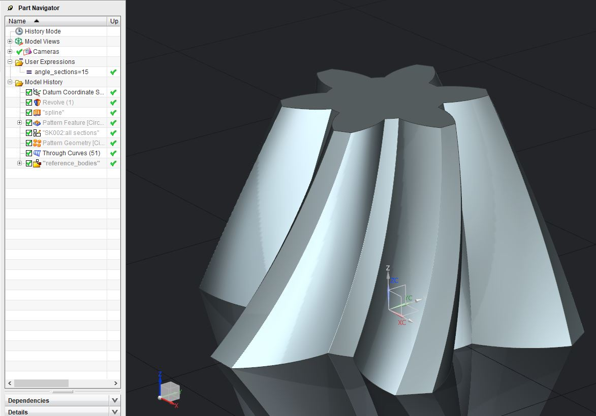 Creating Scalable Associative Geometryfeatures In Nx Grabcad