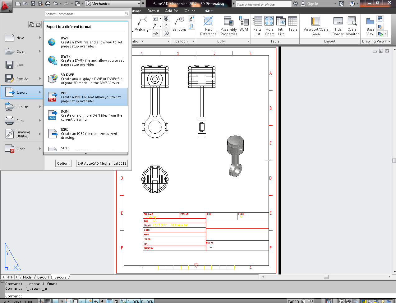 How to export your file to PDF in AutoCAD? | GrabCAD Tutorials