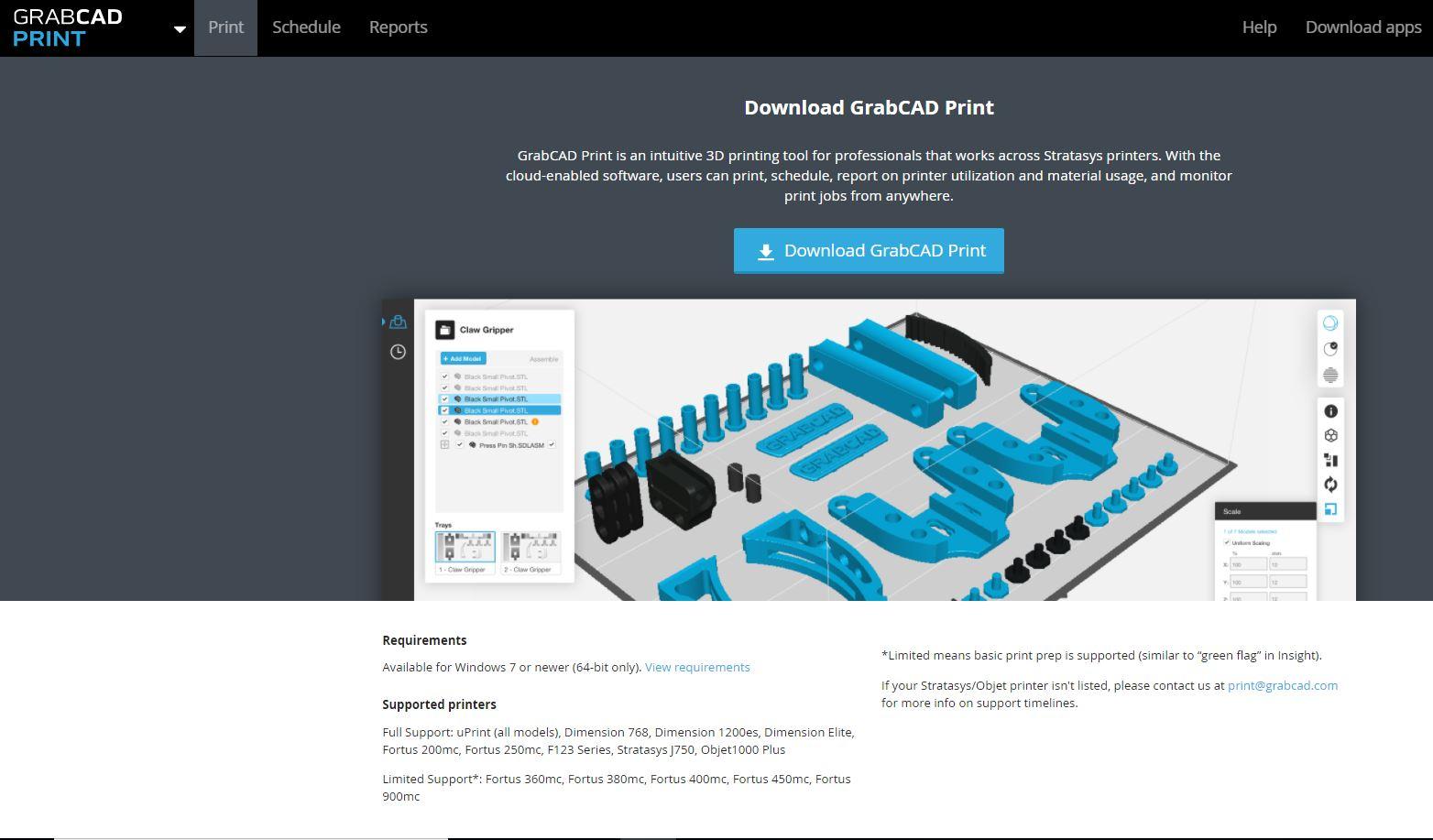 Where can I download GrabCAD Print? | GrabCAD Questions