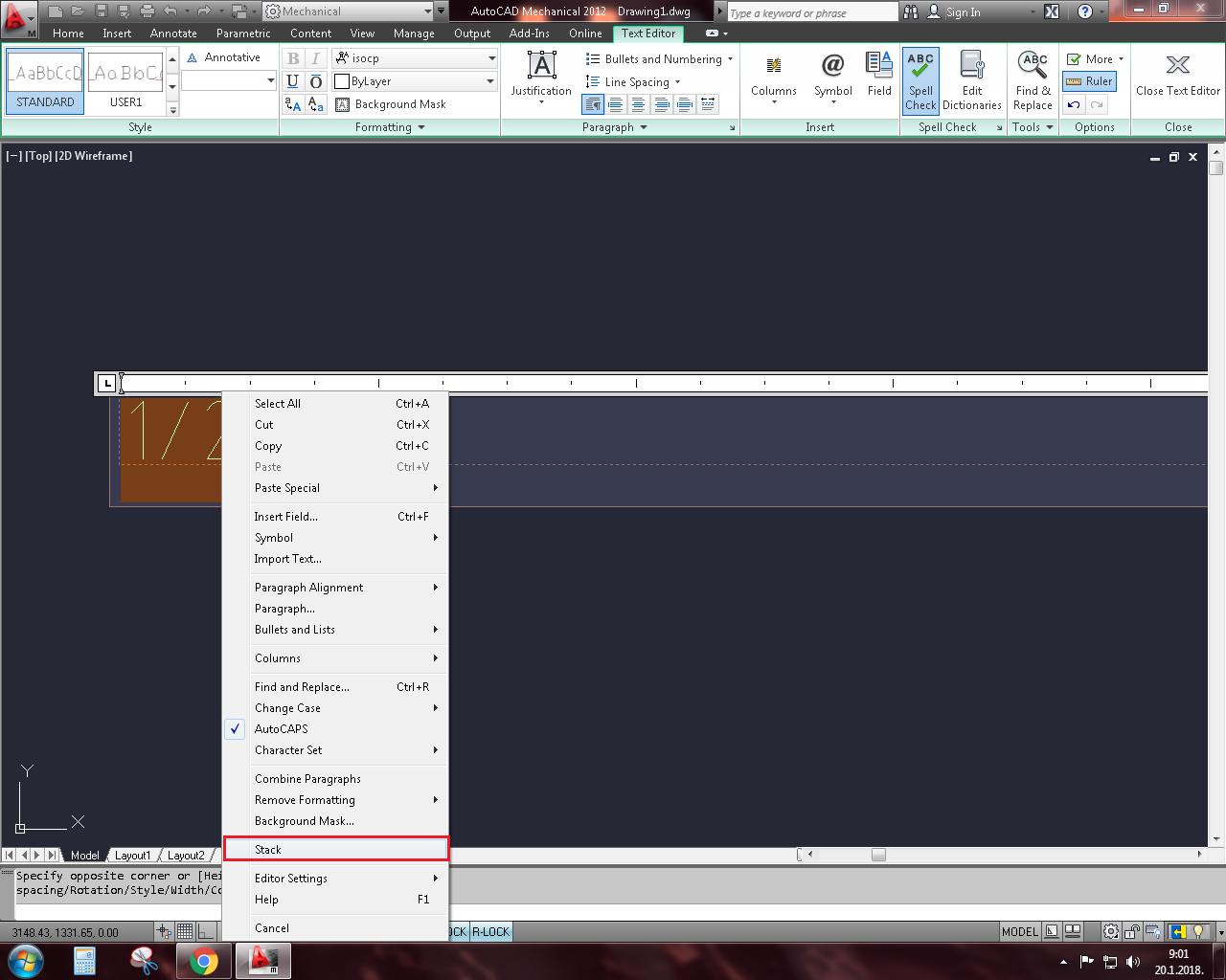 How to write fractions in AutoCAD? | GrabCAD Tutorials