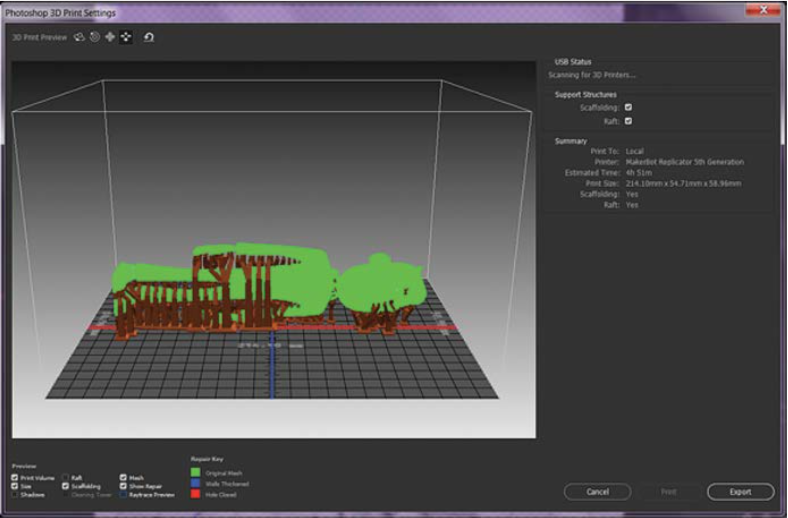 How to 3D Print from Adobe Photoshop | GrabCAD Tutorials