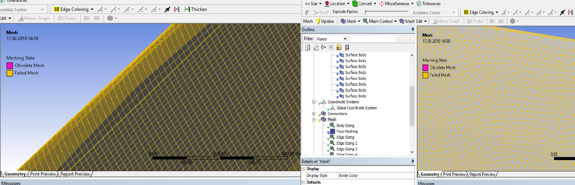 Ansys wing meshing problem   GrabCAD Questions