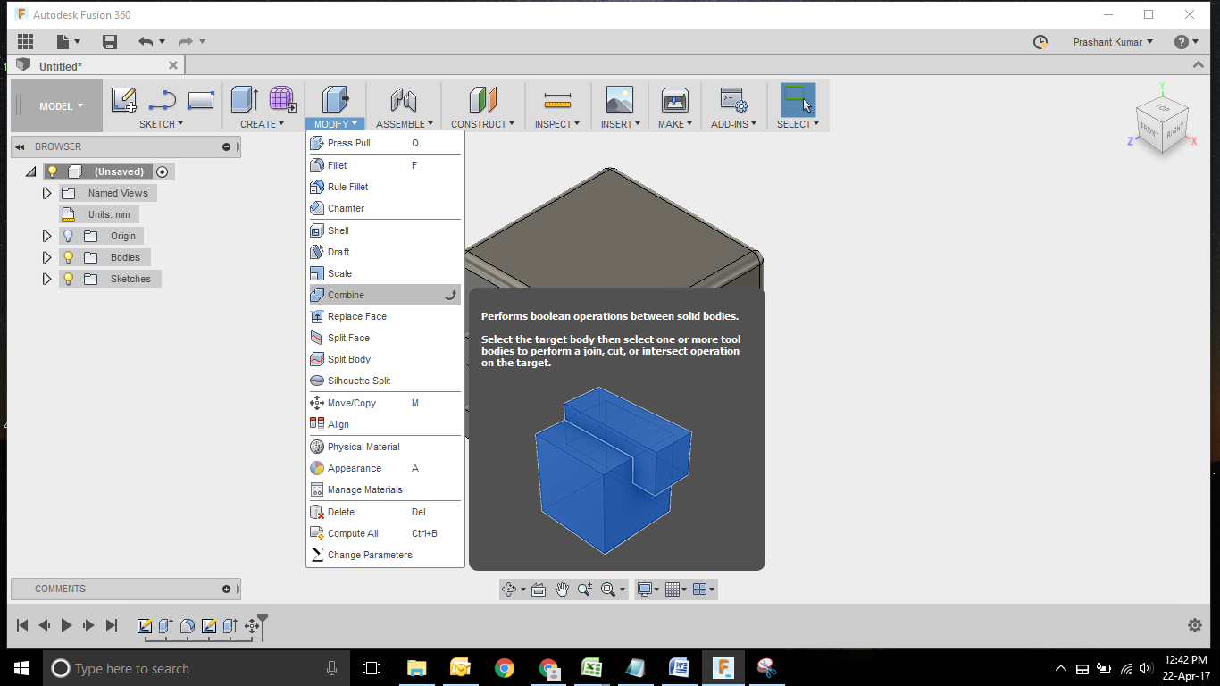 Dice Modelling using Fusion 360  | GrabCAD Tutorials