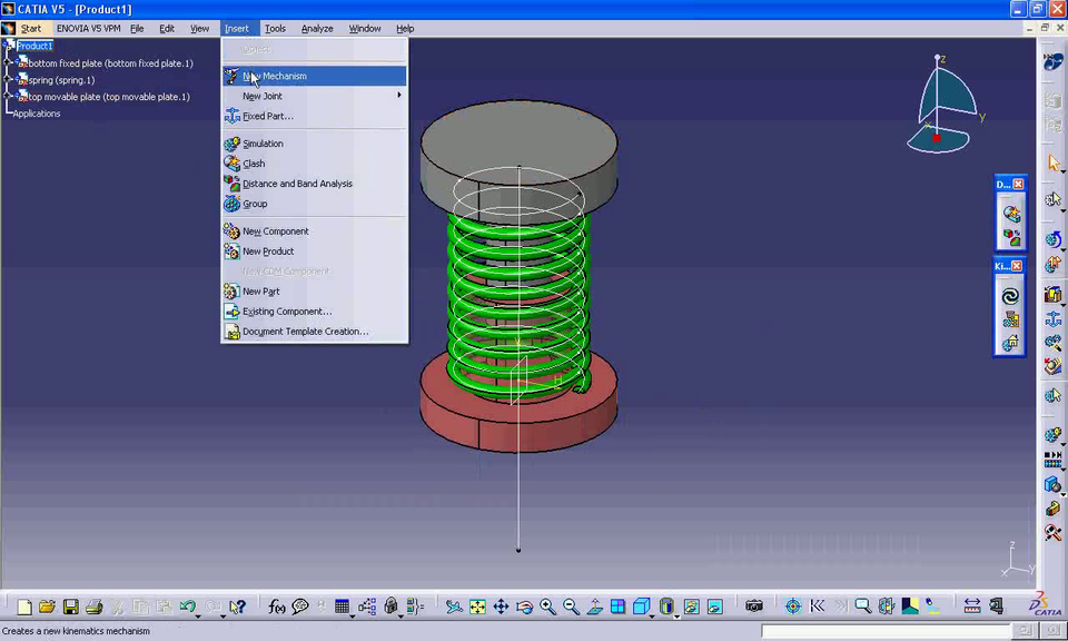 how to open step file in catia