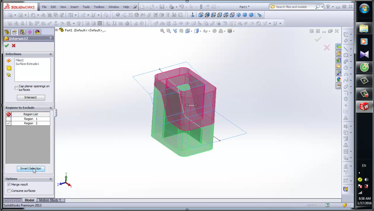 SolidWorks: Intersect, Split | GrabCAD Tutorials