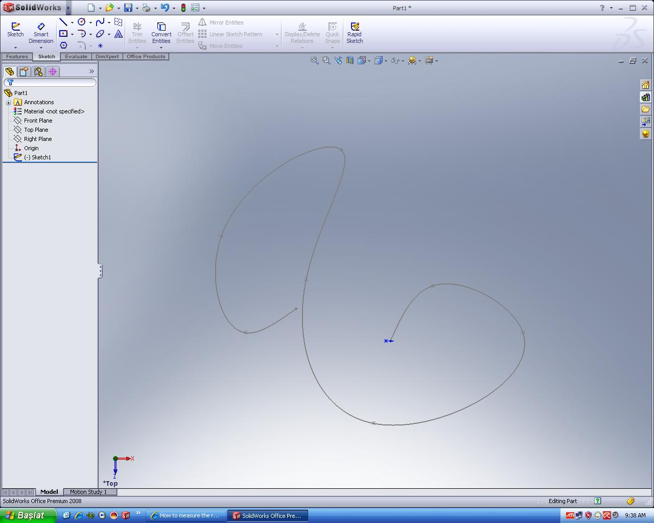 How To Measure The Real Lenght Of A Curve On Solidworks Grabcad