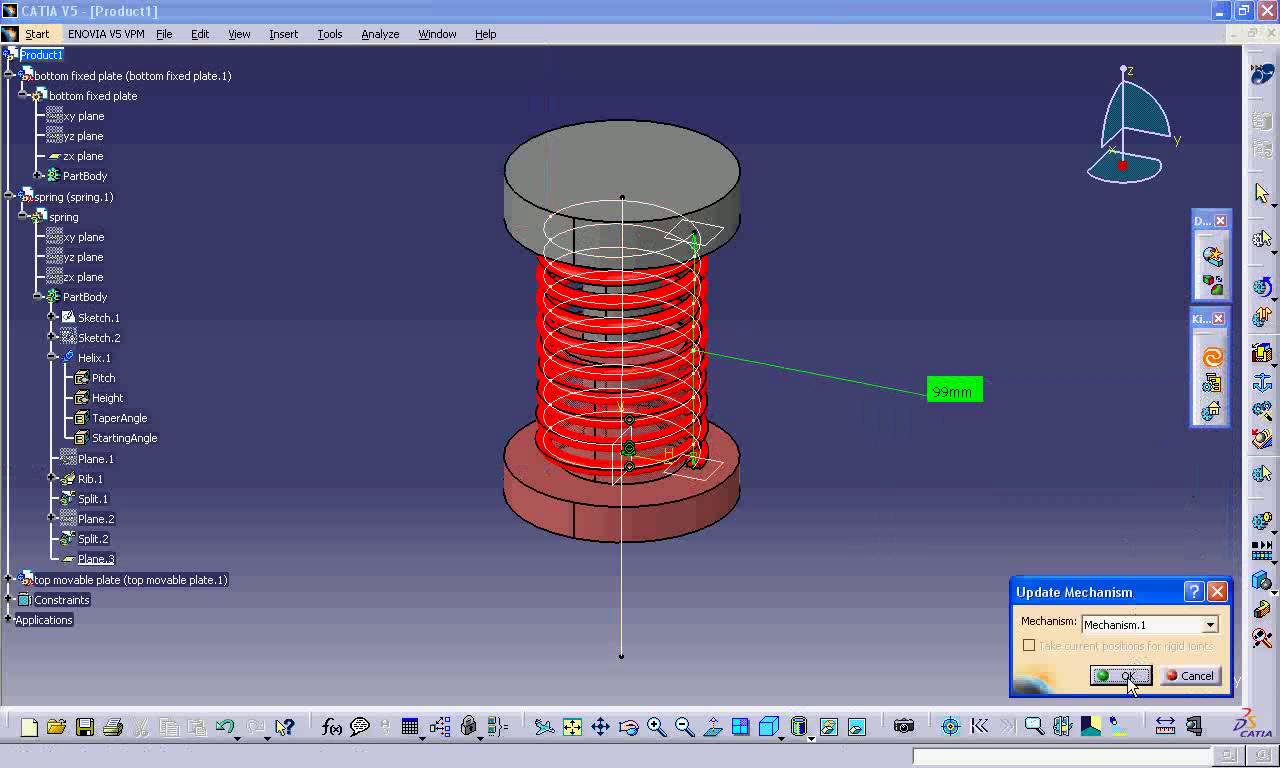 catia v5 tutorials mechanism design and animation pdf