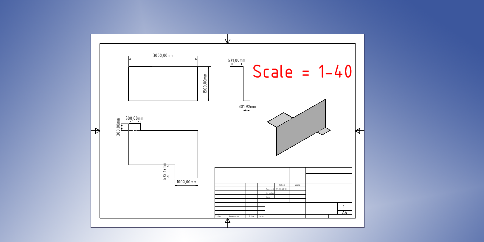 Exporting Sheet metal part to 1:1 DXF File  | GrabCAD Questions