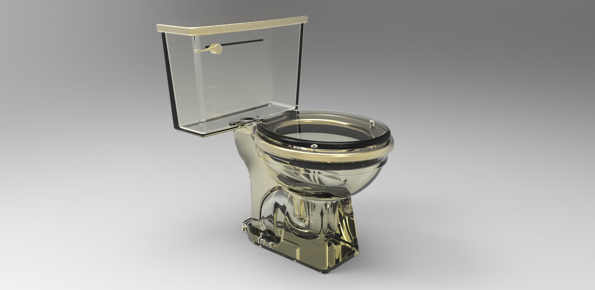 Transparent Toilet Working Model Grabcad Questions