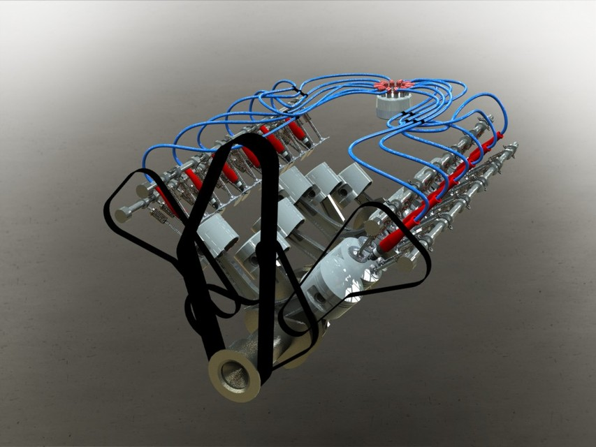 Tutorial how to make engine part 35 grabcad for How to create a motor