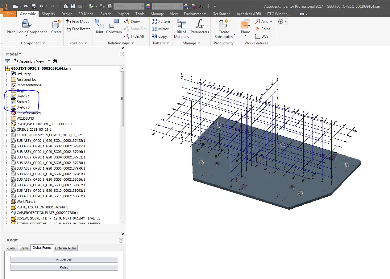 GridLines in inventor 2017   Autodesk Inventor Users