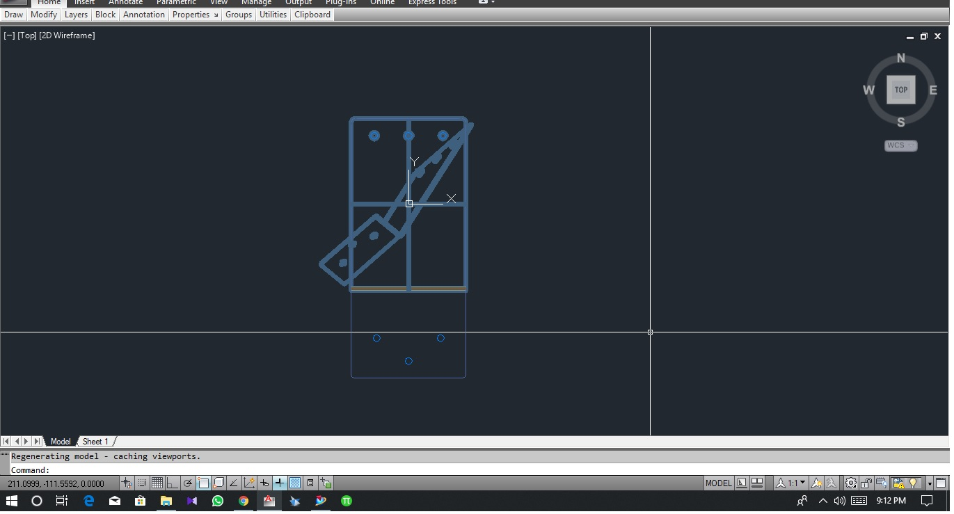 how to export a NX drawing file( part format) into AutoCAD