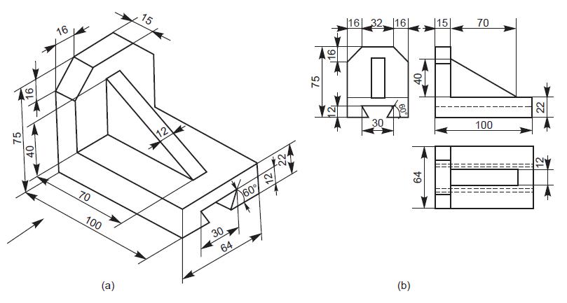 Autocad tip for 2d to 3d conversion grabcad tutorials for 2d blueprint maker