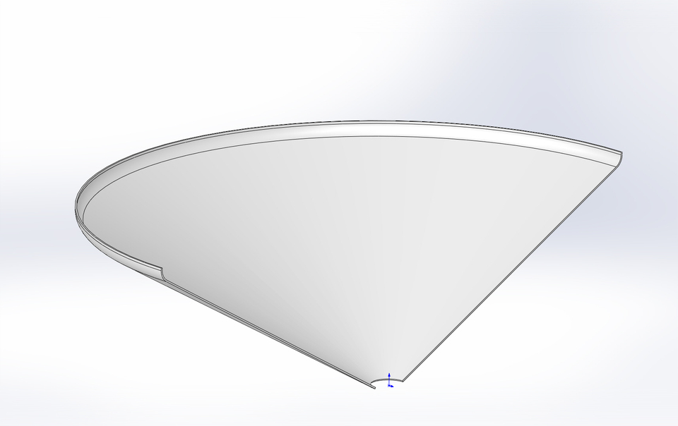 How To Unfold A Cone Sheet Metal With Radius Grabcad