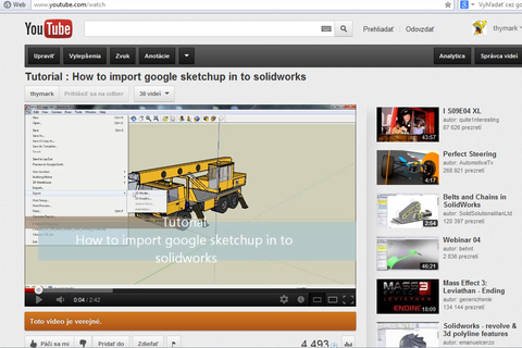 How to import sketchup files to solidworks grabcad for How to import stl into sketchup