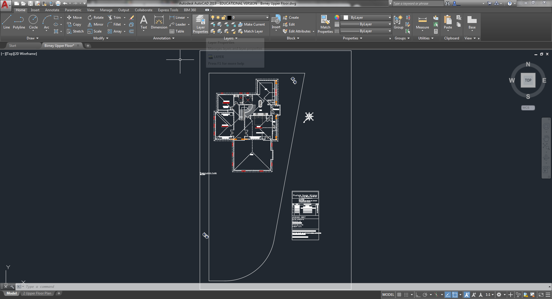 I have revit DWG and can only open in paper space  Can anyone pls