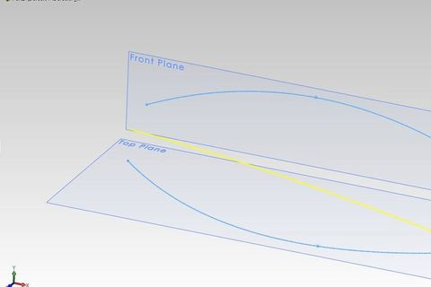 how to make curve solidworks