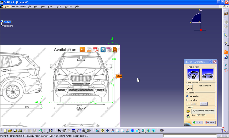 how to open stp file in catia