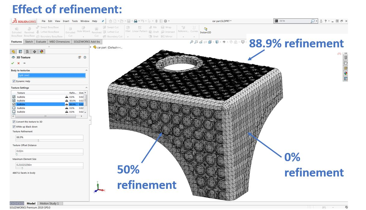 How to 3D Texture Your Parts for FDM Printing Using