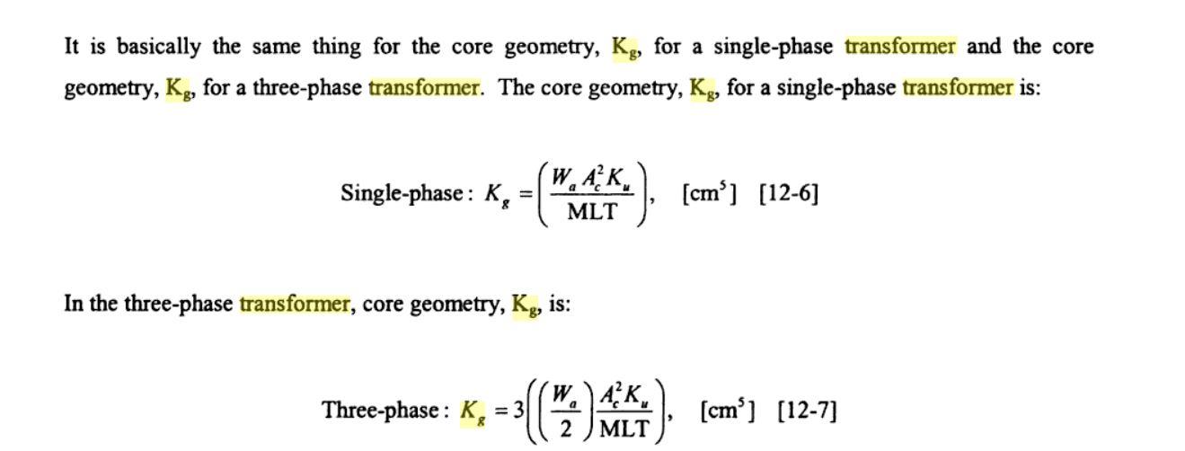 How do I calculate the Transformer Ferrite Core Size I need