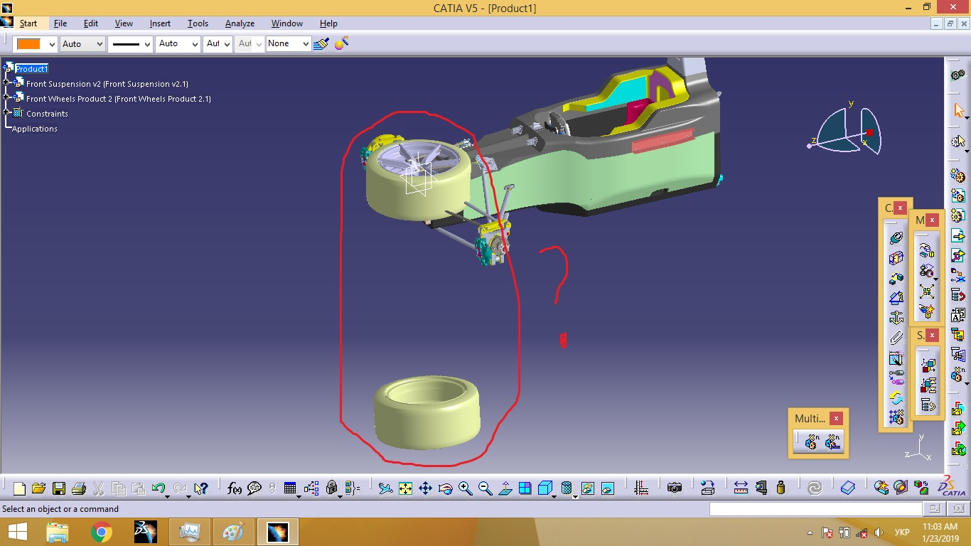 I need help with inserting parts in correct position when