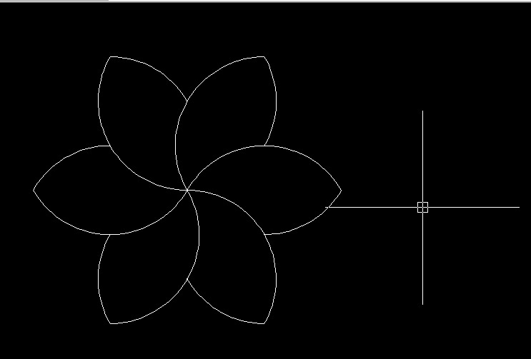 How to model a flower in Autocad 2007 2D? - GrabCAD